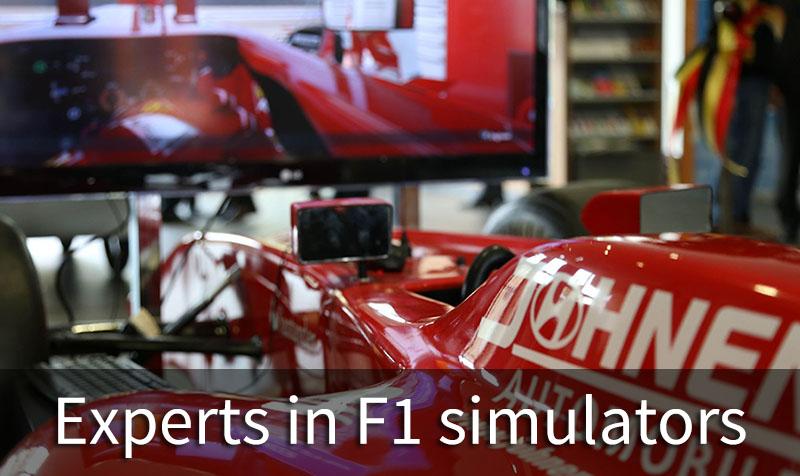 Experts in F1 simulators