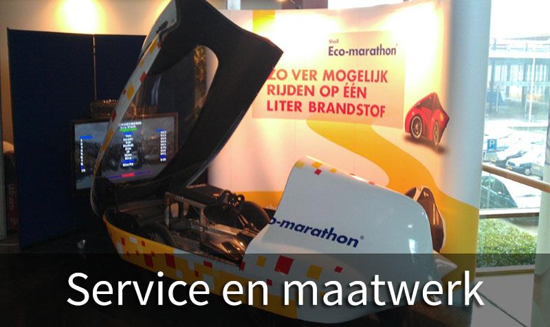 Service en maatwerk